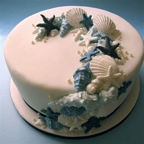 1000  images about CAKES BEACH on Pinterest   Seashell