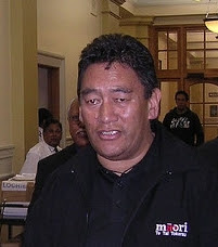 Hone Harawira, 2006 portrait photo.
