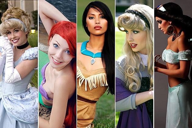10 Disney Princesses in Real Life