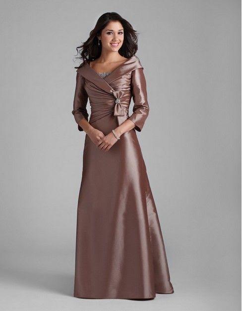 Evening dresses 3 4 length