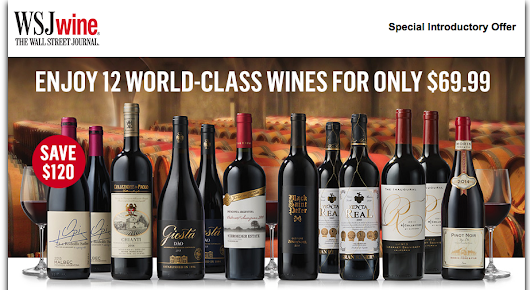 Wall Street Journal Wine Club Review & Coupon Code 2016