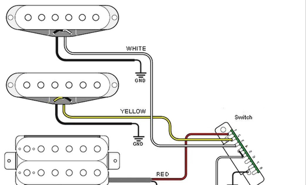Strat Guitar Wiring Diagrams
