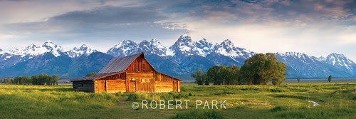 """""""Frontier Life""""Grand Tetons National Park  By Robert Park  http:www.robert-park.com by Robert Park Photography"""
