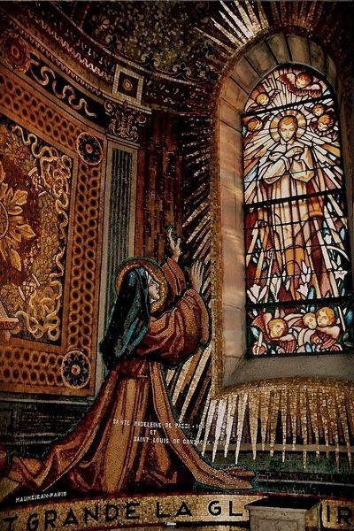 Vision de Ste Marie-Madeleine de Pazzi - chapelle de La Colombière