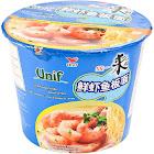 Unif Bowl Instant Noodles, Shrimp Flavor - 4.16 oz cup