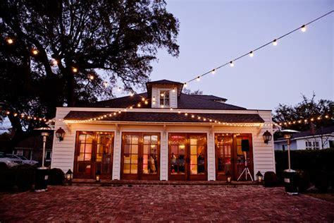alisa enrique wedding river house  lowndes grove