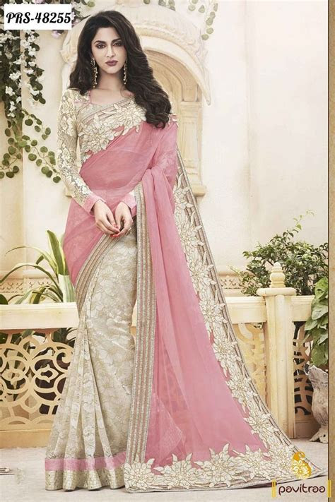 Beautiful Trendy Wedding Bridal Latest Designer Sarees
