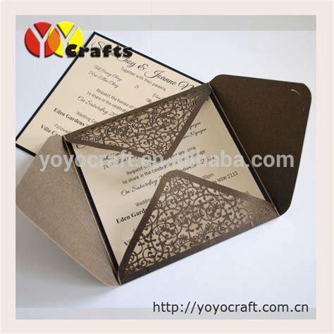 laser cut high quality invitation cards,wedding invitation