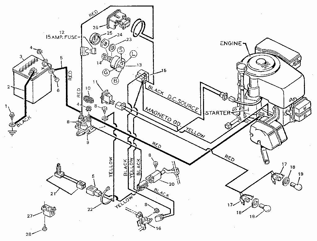 Sear Lawn Mower Wiring Diagram