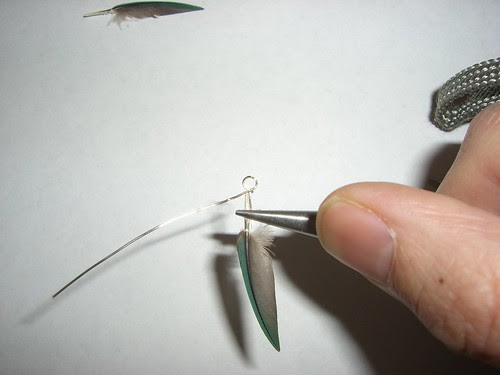 Wire Wrapping Feathers The Feather Forge