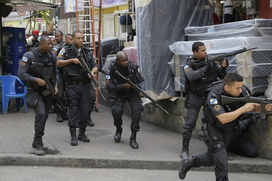 Military forces to intervene after shootout in Brazil's Rocinha