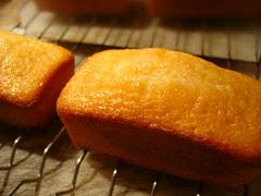 lemon lavender poundcakes