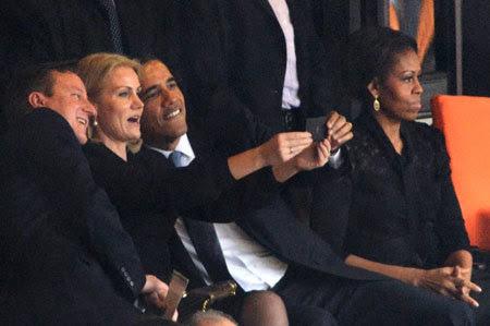 Obama, tự sướng, trào lưu, văn hóa, công cộng, đám tang