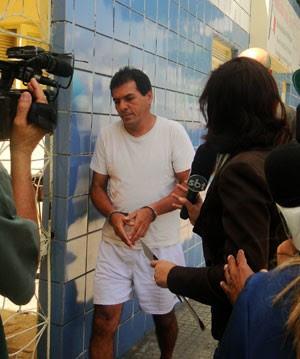 Welington Pé na Jaca foi interrogado na manhã desta quinta-feira (29) (Foto: Rafael Barbosa/G1)