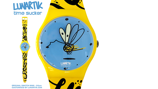 Here's Lunartik's Giant Swatch