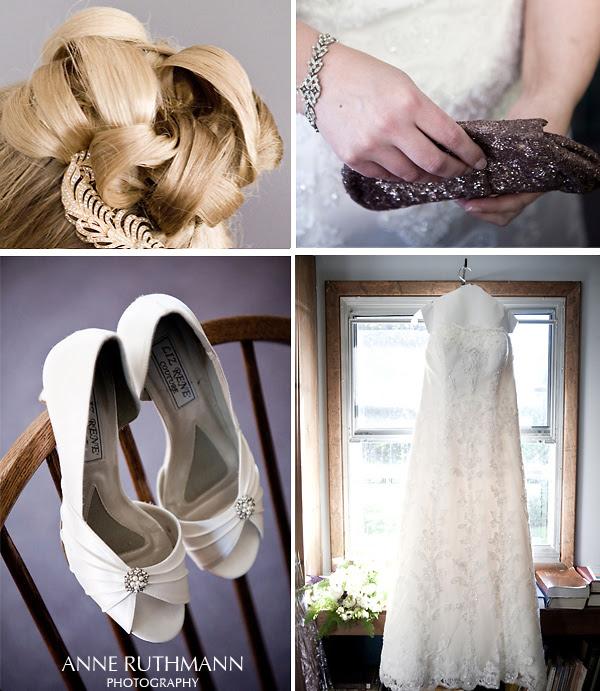 Real Wedding Dress & Accessories Details