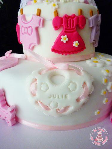 anniversaire24: gateau anniversaire fille 1 an