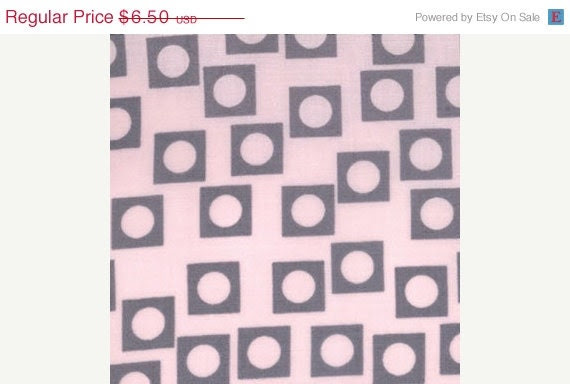 CLEARANCE SALE--1 yard---Play Dot in Pink Lemonade, Sherbet Pips, Aneela Hoey for Moda Fabrics