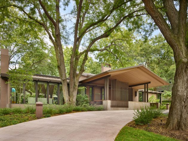 15 Gorgeous Mid Century Modern Home Exterior Designs