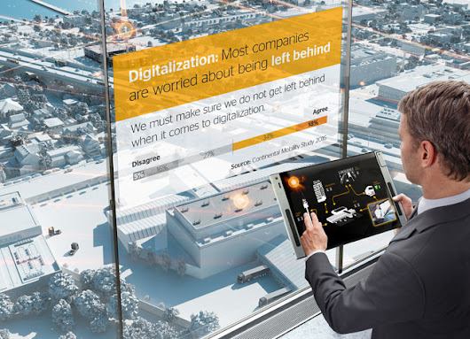 Logistics industry worried about digitalisation – Continental survey shows