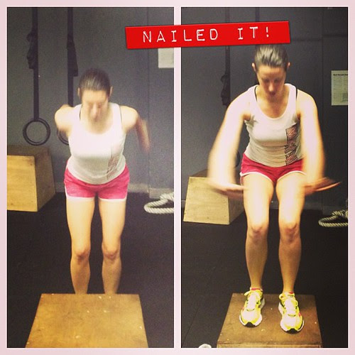Tackling my fear of box jumps #fitfluential #whatsbeautiful #latergram