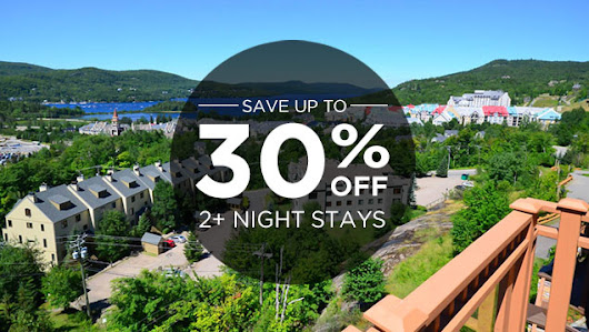 Vacation Deals | Tremblant Rentals, Luxury Chalet & Condos in Mont Tremblant