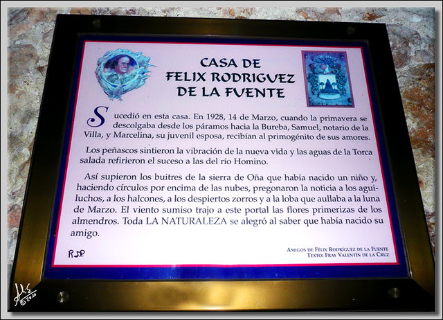 INSCRIPCION CASA FELIX R. DE LA FUENTE MR