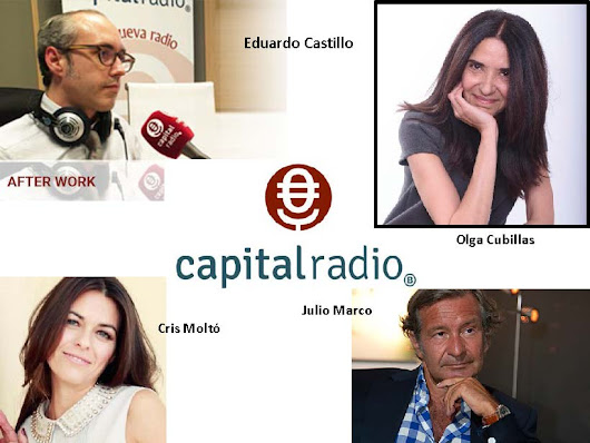 Olga Cubillas en Capital Radio - Afterwork - Olga Cubillas: personal coach en Madrid