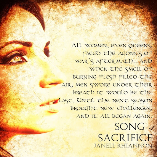 BOOK BLITZ - Song of Sacrifice (Homeric Chronicles, #1) by Janell Rhiannon