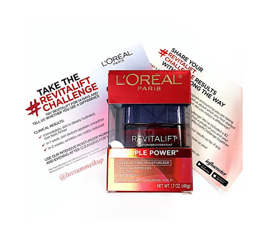 L'Oreal RevitaLift Intensive Moisturizer Review