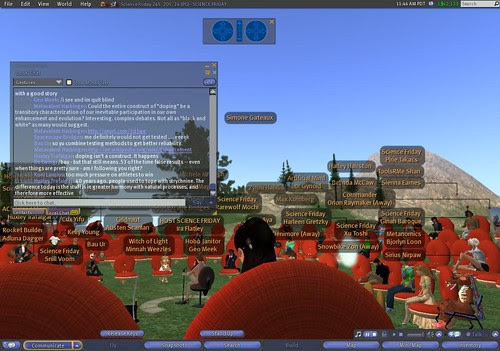 Science Friday in Second Life
