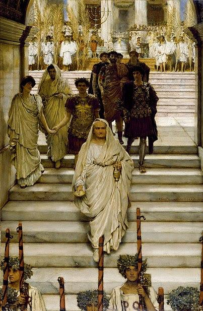 File:The Triumph of Titus Alma Tadema.jpg