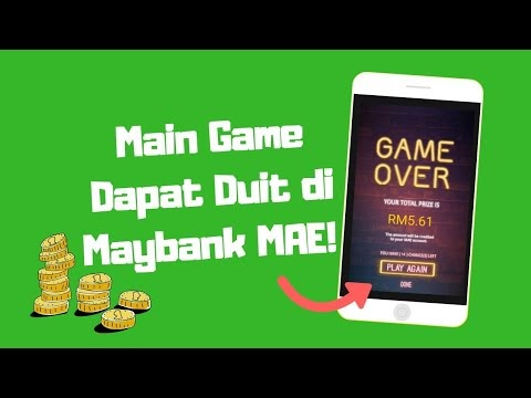 Maybank MAE Money Mae-Hem Cash Reward! Main Game Dapat Duit!
