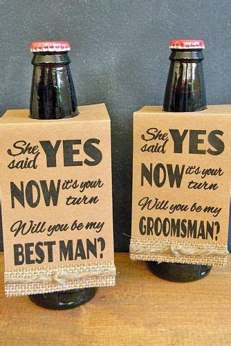 "27 Groomsmen Proposal Ideas ""Will You Be My Groomsman"