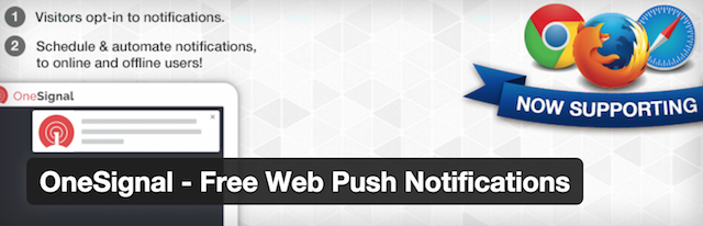 Onesignal Push notification Plugin