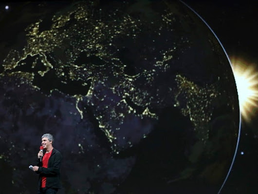 Google's Plan To Take Over The World