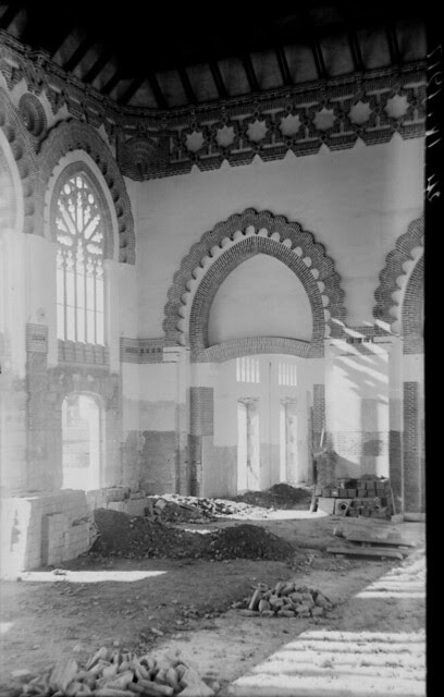 Estación de ferrocarril de Toledo el 24 de abril de 1917  © Archivo Histórico Ferroviario del Museo del Ferrocarril de Madrid. Fotografía de F. Salgado. Signatura 0489-IF MZA 0-10