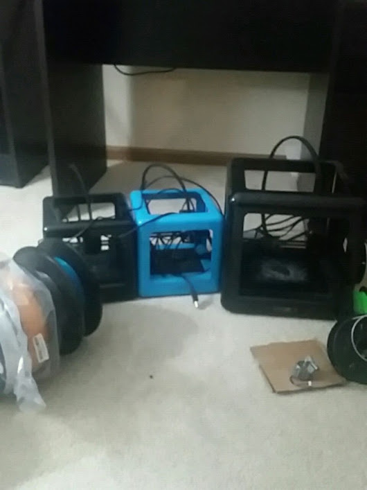 M3D Pro 3D Printer and filament in Arlington Heights - letgo