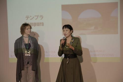 Kaori Momoi speaks!
