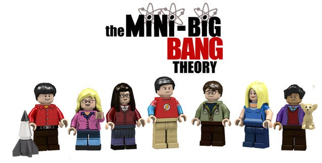 Lego will make an official The Big Bang Theory set