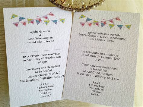Wedding invitations ? what to include   Daisy Chain Invites