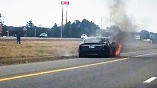 A Third Tesla Model S Has Caught Fire