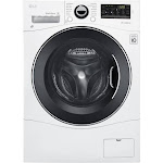 LG WM3488HW Front-Loading Electric Washer/Dryer - White