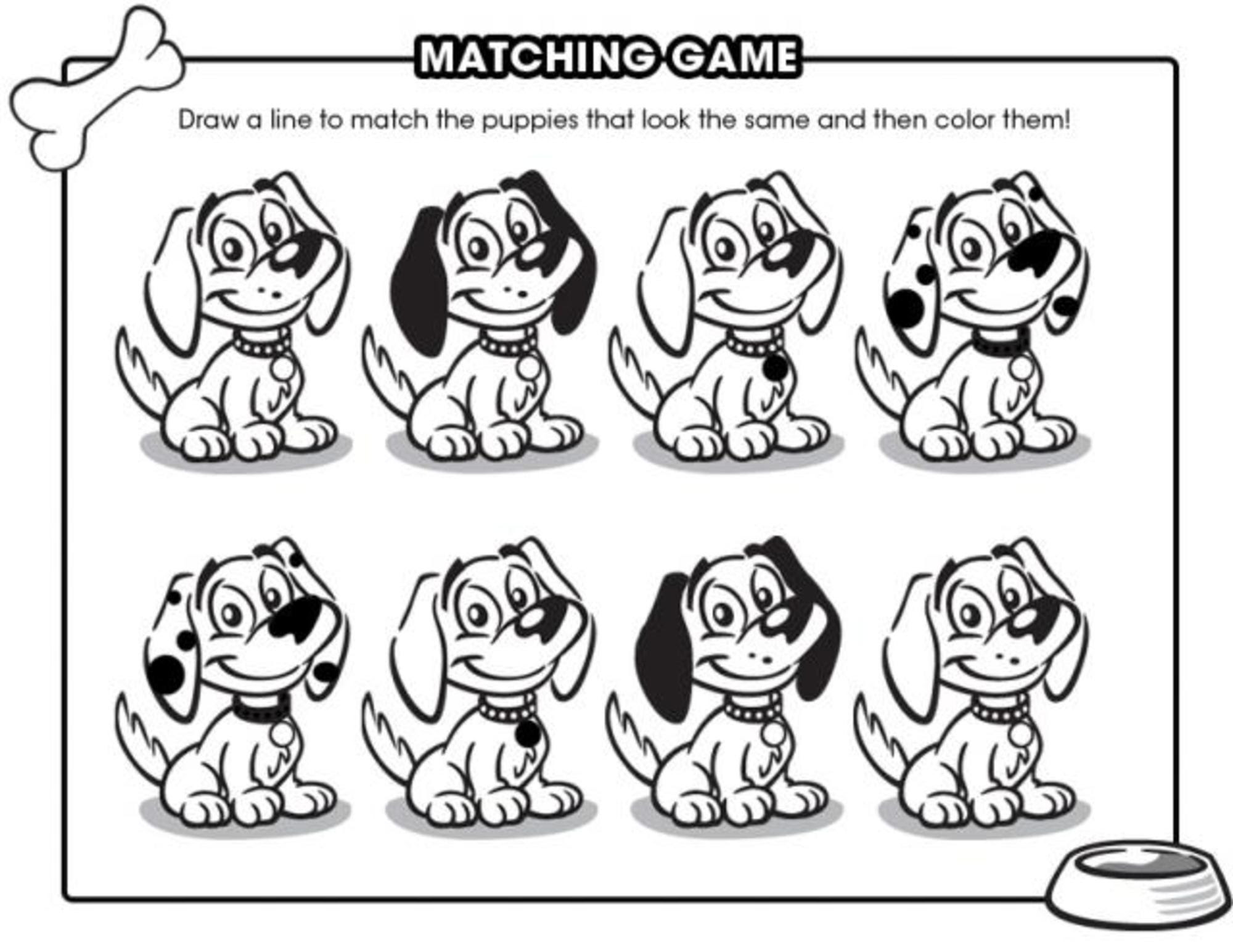 12 Free Puppy Printables - diy Thought