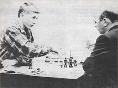 Bobby Fischer contre GMI Byrne Cht des états Unis
