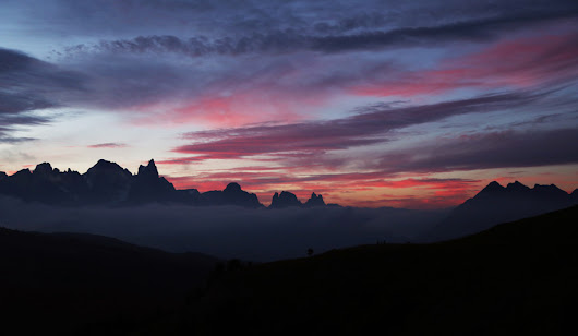 Sunrise over the Dolomites | The Travel Gene