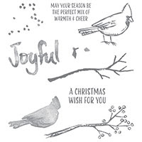 Joyful Season Photopolymer Stamp Set by Stampin' Up!