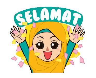 hijab animasi png nusagates