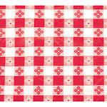"""Winco TBCS-52R Red Square Table Cloth 52"""" x 52"""""""