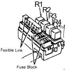 89 94 Nissan 240sx Fuse Box Diagram